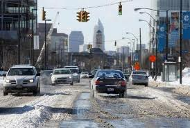 cleveland OH snow